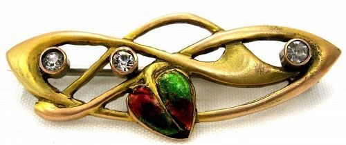 Gold Enamel Pin – WH Haseler - Liberty & Co.