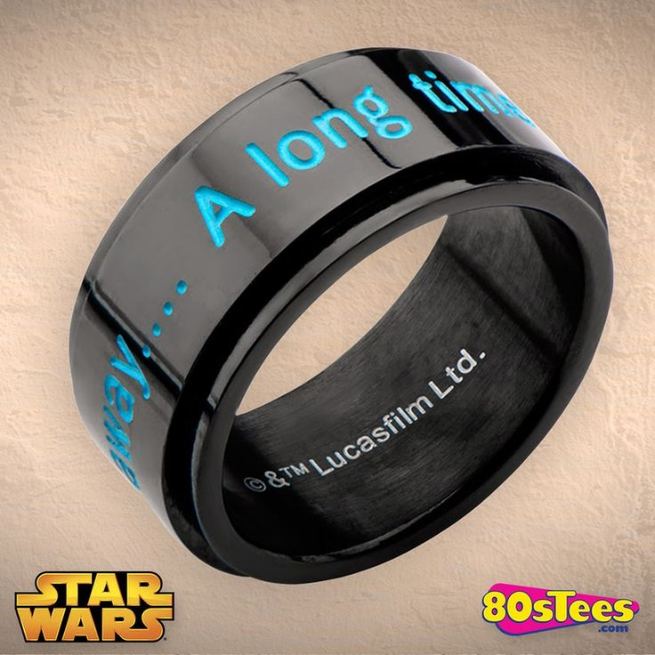 A Long Time Ago Star Wars Ring in collections: 80sMovies: Star Wars: Star Wars Jewelry