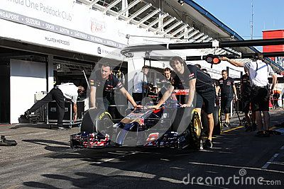 Formula One Racing Car  - F1 Photos - Download From Over 45 Million High Quality Stock Photos, Images, Vectors. Sign up for FREE today. Image: 70724602