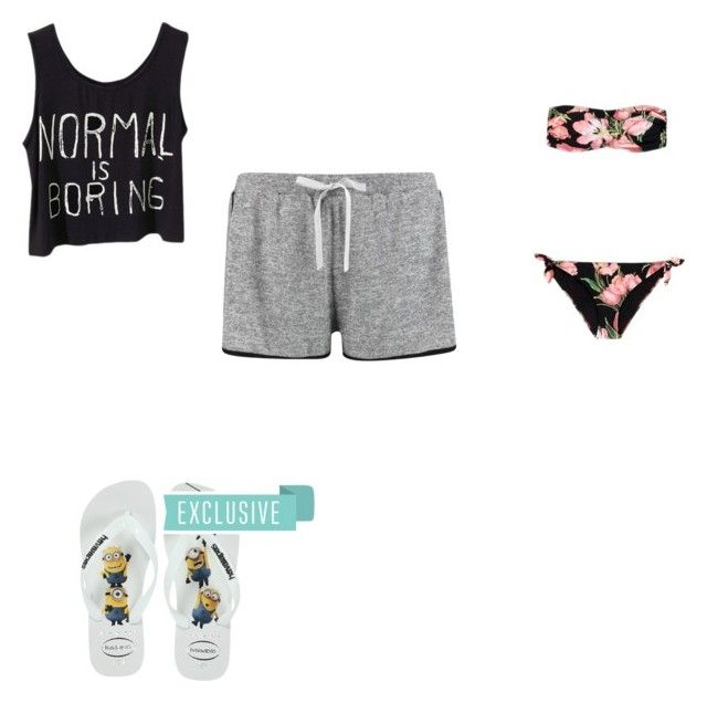 """""""#357"""" by aureeliet on Polyvore featuring Dolce&Gabbana, Boohoo and Havaianas"""