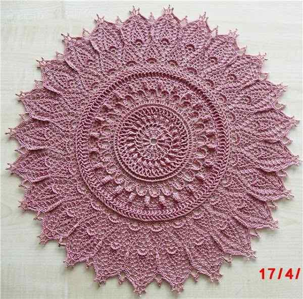 Crochet Doily from one of Patricia Kristoffersen's books. (out of print)