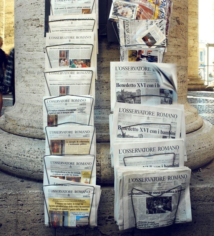 'Travel Roma' in LINDA Magazine NL Photography by Frank Brandwijk I 'Rome' 'News Paper'