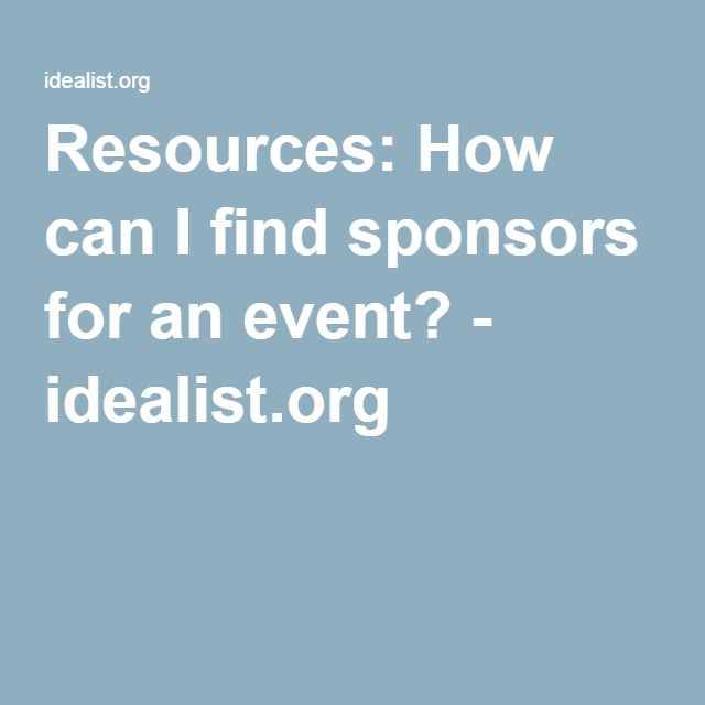 61 best Template sponsorship images on Pinterest Nonprofit - free racing sponsorship proposal template