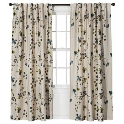 ThresholdTM Watercolor Floral Window Panel