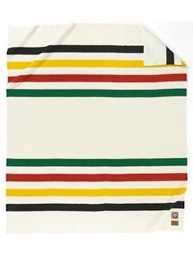 "Classic! Pendleton ""Glacier Park National Park"" Blanket. Since the early 1900s, Pendleton Woolen Mills has honored America's National Parks with distinctive park blankets. The Glacier Park National Park's historic markings/colors date back to the frontier trading posts."