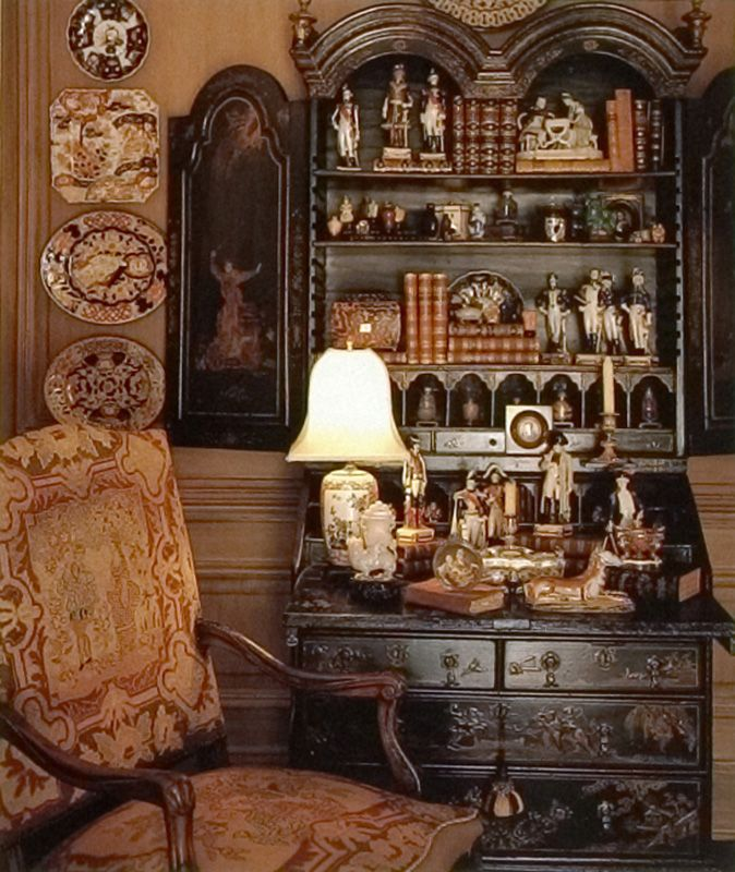 William R Eubanks Interior Design And Antiques Press 100 Designers Favorite