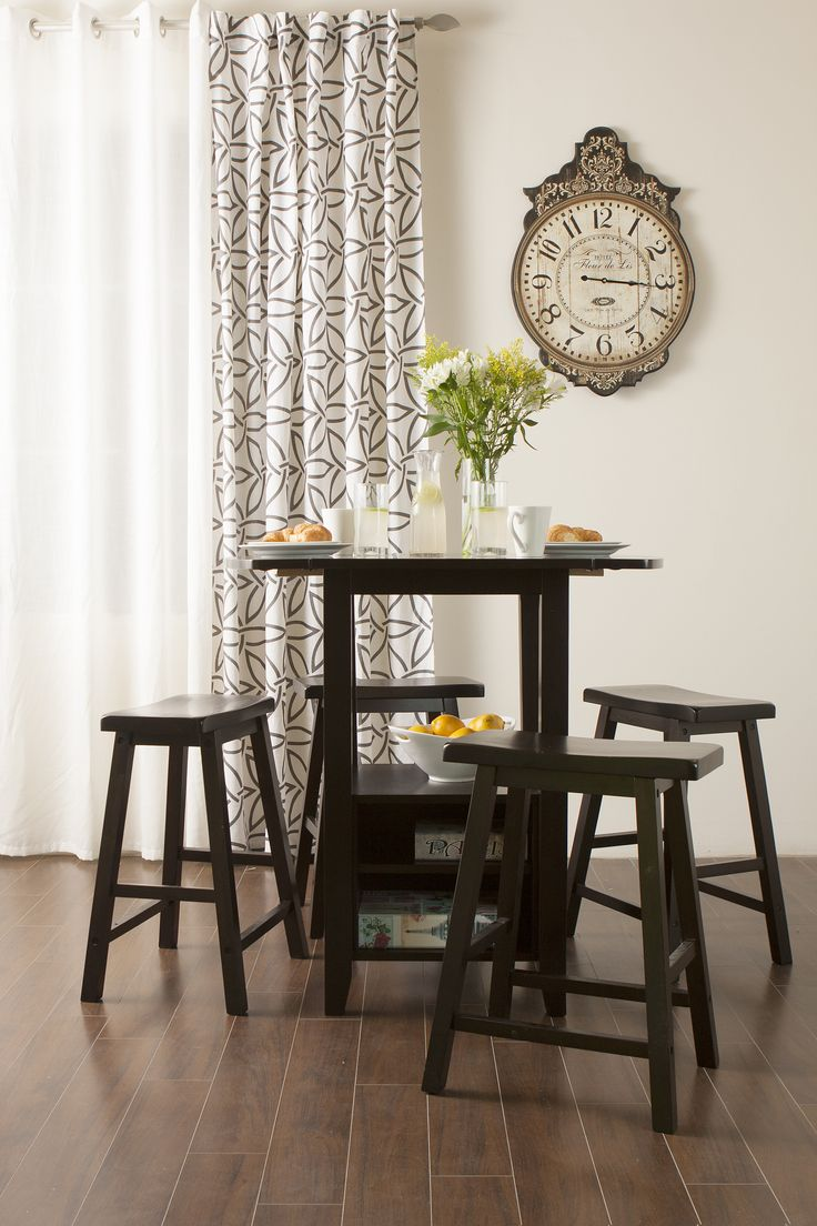 Uncategorized/black kitchen table sets/assembly information table option black kitchen table 4 chairs - Fabian Table 4 Fanny Chairs Dining Set See More This Cute Counter Set Is Very Functional With Storage And Foldable Edges