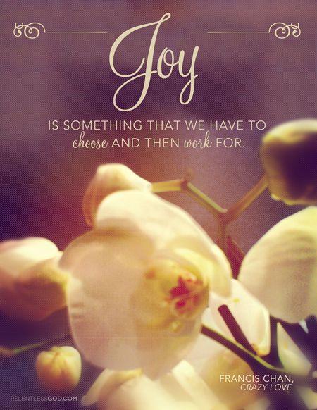 Keep your joy levels high!Choo Joy, God Quotes, Faith, Experiments Joy, Choose Joy, Quotesb Vers, Inspiration Quotes, Francis Channing, Heavens