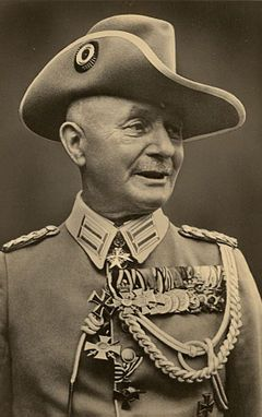 The German general who told Hitler to go screw himself-click back for name and bio-He outlived Hitler!