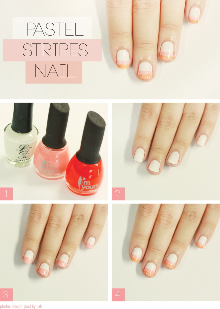 324 best beauty images on pinterest beauty products cosmetics and diy pastel stripes nail design do it yourself fashion tips diy fashion projects on imgfave solutioingenieria Gallery