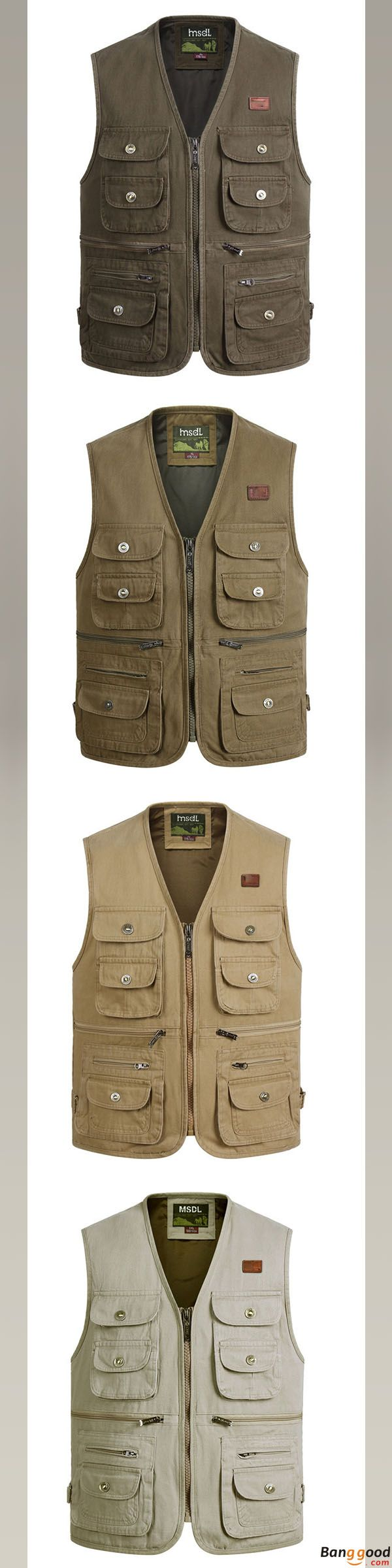 US$35.82 + Free Shipping. Outdoor Vest, Mens Vest, Photographer Vest, Fishing Vest, Multi-pocket Vest, Tactical Vest, Cotton Sleeveless Vest. Color: Olive, Army Yellow, Khaki, Beige US$ + Free Shipping. US Size: From S to 2XL. Get One and Prepare for the Winter.