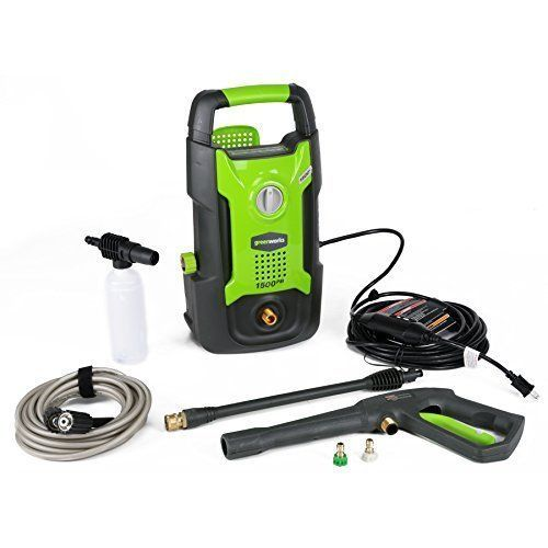 Portable Cleaner Electric Pressure Washer Hose Nozzle & Soap 1500 PSI 13 amp NEW #CleanerElectricPressureTurboWasher