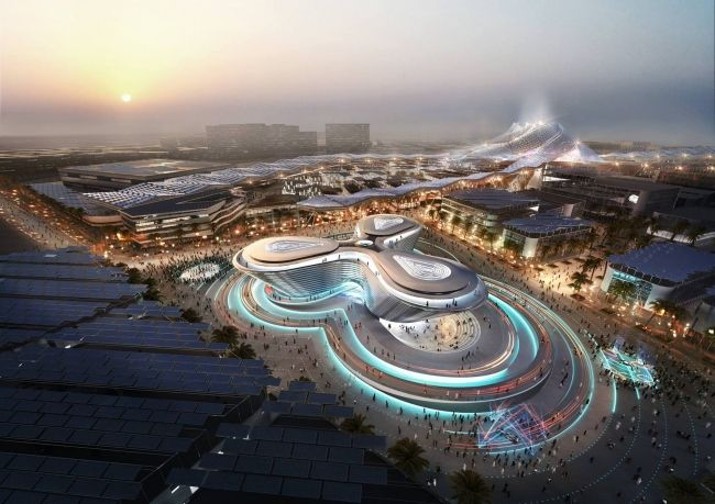 Павильон «Мобильность» © Foster + Partners / Dubai Expo 2020