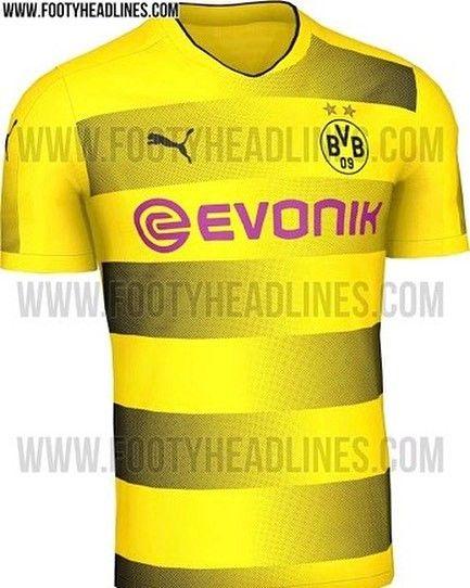 Das soll das Trikot von Borussia Dortmund sein. Gefällt es euch? . . . via footyheadlines.com . . . #bolzplatzhelden #fussballtrikot #bvb09