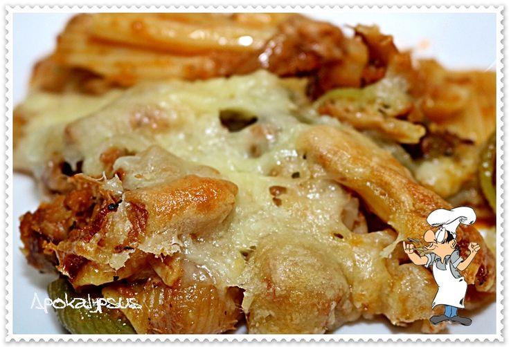 Pasta de Atum no Forno – A Cozinha do Avô Chico