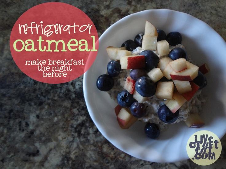 refrigerator oatmeal recipe