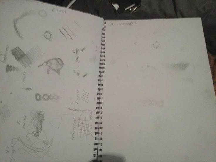 Sketchbook pages 19-20