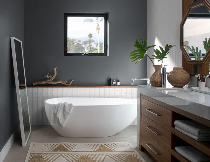 bathroom paint color ideas inspiration benjamin moore on interior paint color schemes ideas id=96691