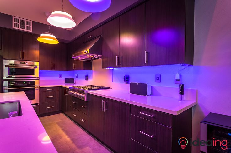 Awesome Philips Hue Lightstrip Under Cabinet