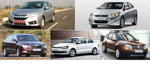 Top 5 cars for Rs 10 lakh