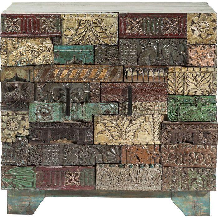 Dresser Shanti Surprise Puzzle 2 Doors - KARE Design