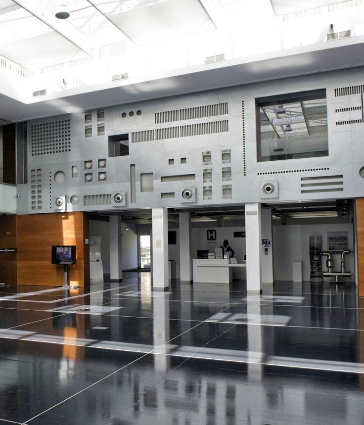 Patio central del Centro de #Innovacion #Andalucia Lab