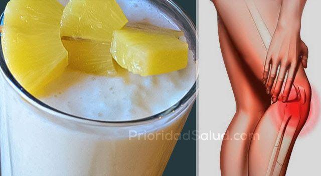 Dile adiós al dolor de las articulaciones, las piernas y la columna vertebral con este eficaz batido antiinflamatorio.