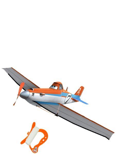 Lentsikat, Dusty 3D -leija. Kesätuulet nostattavat komean Dustyn yläilmoihin. Koko: 97 x 67 cm. Narun pituus 36 m. 5+