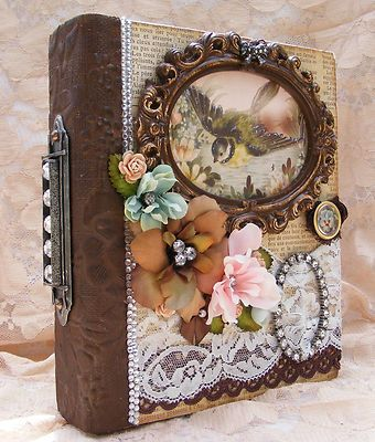 vintage style photo albums