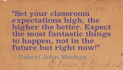 "... things to happen, not in the future but right now!"" Robert John Meehan"