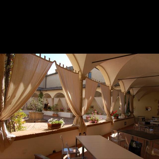 La Terrazza del Chiostro (Il Chiostro di Pienza) Tuscany. | cool ...