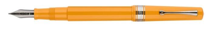 Arte Italiana Art Deco Certified Edition Yellow Fountain Pen