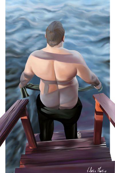 'Bearback' by Valerio Marino on artflakes.com as poster or art print $16.22