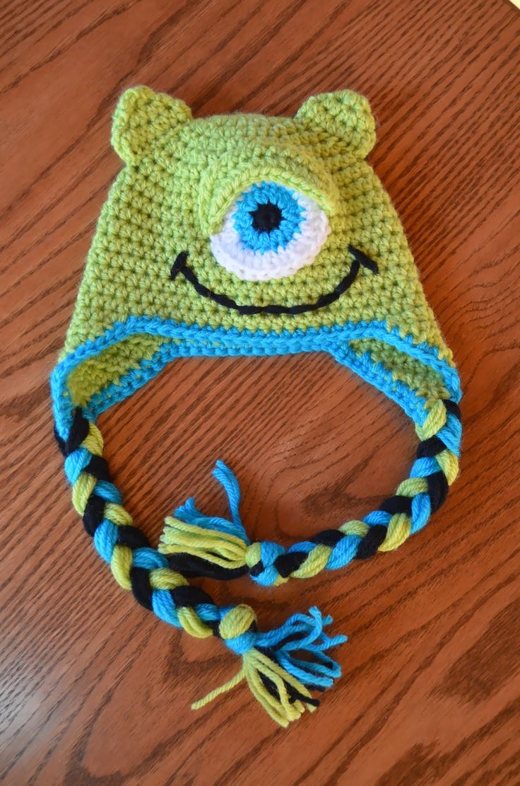 Hand Me Down Hobby: Make a Monster hat.
