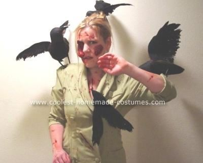 coolest hitchcock costume tippy from the birds scary halloween