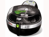 tefal actifry.  uses one spoonful of oil to 'deep fry' 2 lbs. of food.  i. must. have.