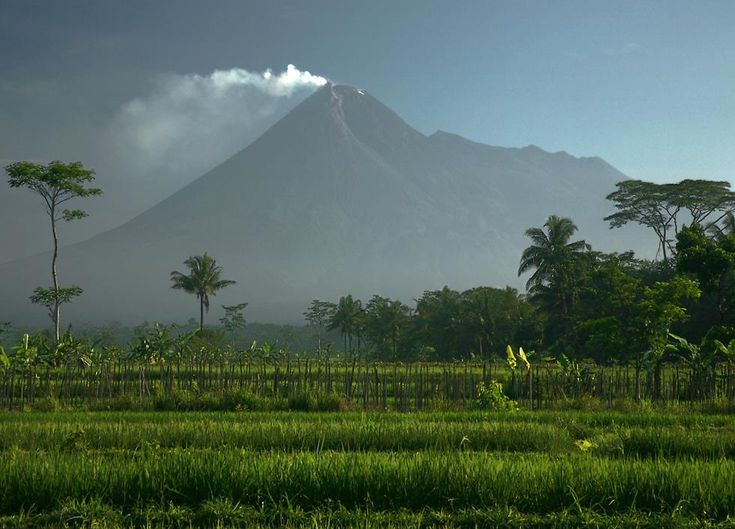 Merapi...a force to be reckoned with
