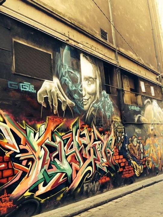 Melbourne street art #art #graffiti #streetart #laneway