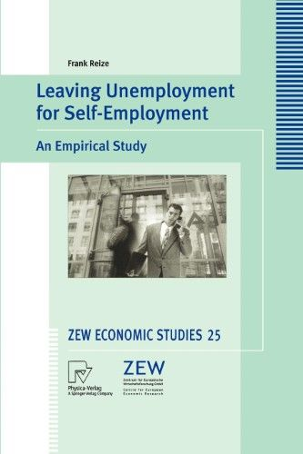 Leaving Unemployment for Self-Employment:An Empirical Study