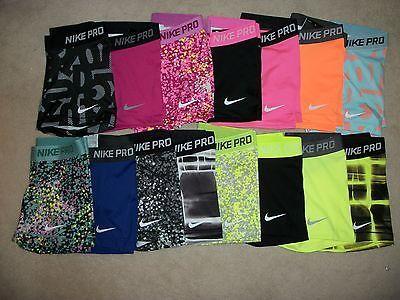 Nike Pro Core Essential Compression Shorts 3 (1 Pair) Spandex Yoga Tights
