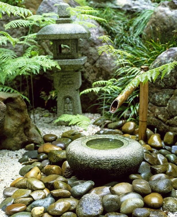 Landscape: Using Pebbles in Water features