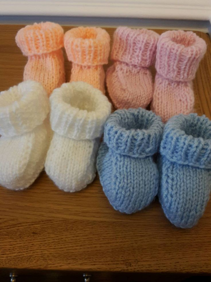 Bootees - 3 mnths - Baby shower- Slippers - Different colours available