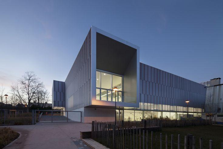 Gallery of Gymnase Jean Gachet / LINK - Chazalon Glairoux Lafond - architectes associés - 5