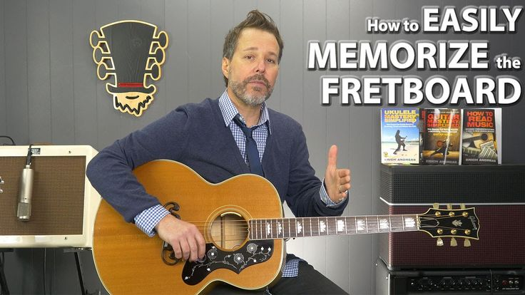 How to easily memorize all the notes on the guitar