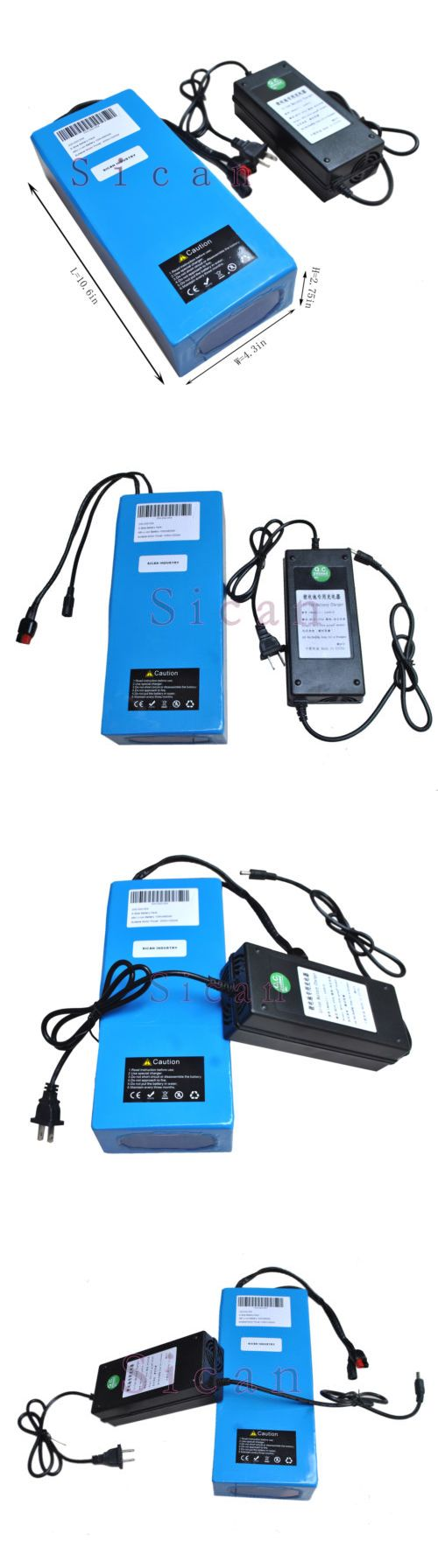 Other Multipurpose Batteries: 48V 10Ah E-Bike Li-Ion Li-Battery Rechargeable Battery Pack Bicycle /W Charge BUY IT NOW ONLY: $229.0