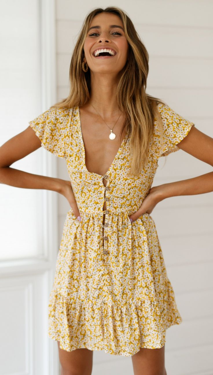 Timeless summer dress