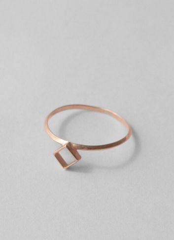 Geometric delicate ring