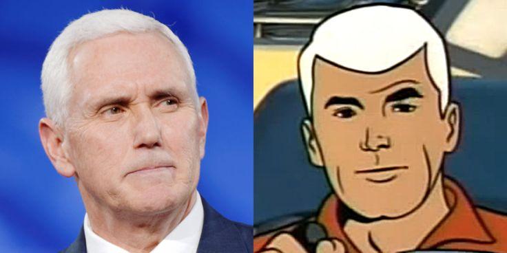 Is Mike Pence Secretly Race Bannon From Jonny Quest?