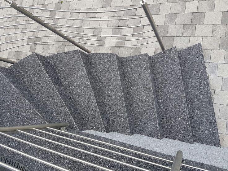 Steinteppich Treppe 16 best steinteppich images on garten door entry and