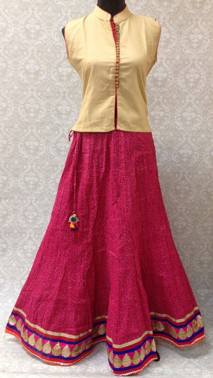 17 Best ideas about Indian Skirt on Pinterest | Lengha simple ...